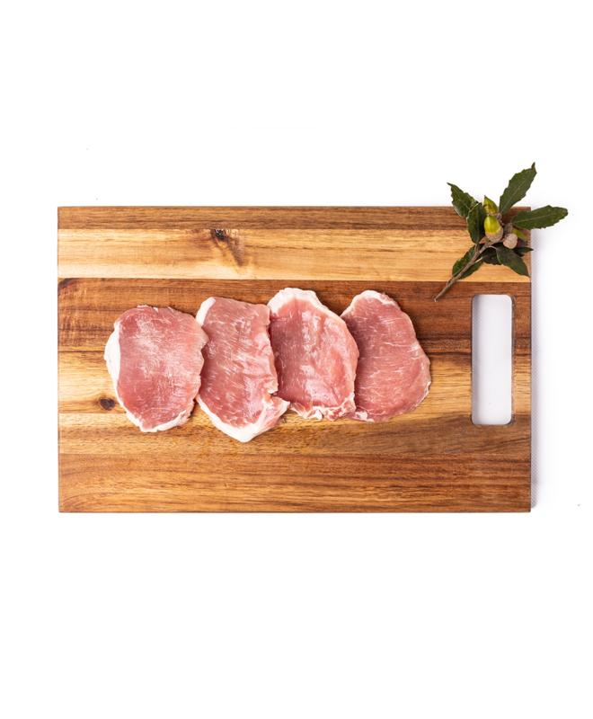 Lomo al ajillo - Xolomoa baratzuriarekin, Ezkurtxerri Basque Porks